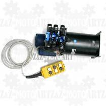 Elektryczna pompa do hydrauliki 24V - 6 funkcyjna (3 siłowniki dwukierunkowe)