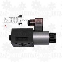 Elektrozawór hydrauliczny suwakowy WE06 * TYP D * 12V