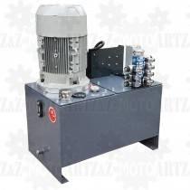 Zasilacz hydrauliczny 11kW agregat dużej mocy ze zbiornikiem 150L